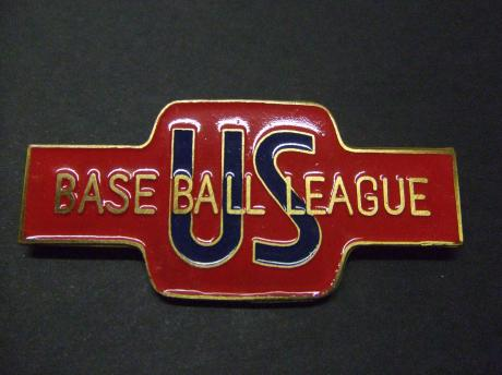 Baseball league USA grote emaille pin